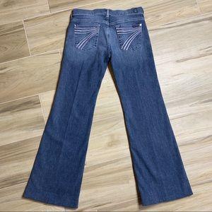 7 for All Mankind Dojo Flare Jean Size 26